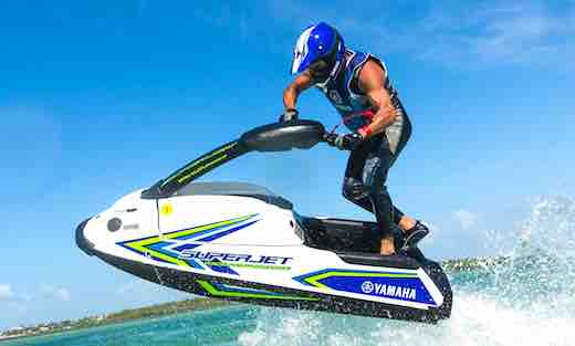 2018 yamaha waverunner superjet jetski top speed for Yamaha ex waverunner