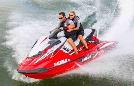2018 yamaha waverunners jetski top speed for Yamaha wave runner price