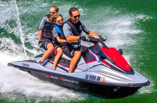 Yamaha waverunner ex sport review jetski top speed for Yamaha extended warranty