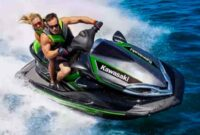 The Kawasaki Jet Ski Ultra 310x delivers the most powerful personal watercraft in the world with a supercharged 1498cc engine and advanced